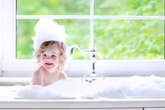 Water softeners make soft water